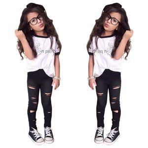 Other - 🌹🌹Trend Europe style girls leggings  set 😍😍